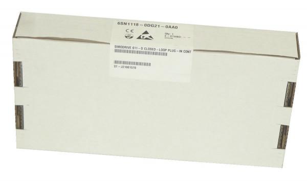 Siemens Simodrive Regler Einschub,6SN1118-0DG21-0AA0,6SN1 118-0DG21-0AA0