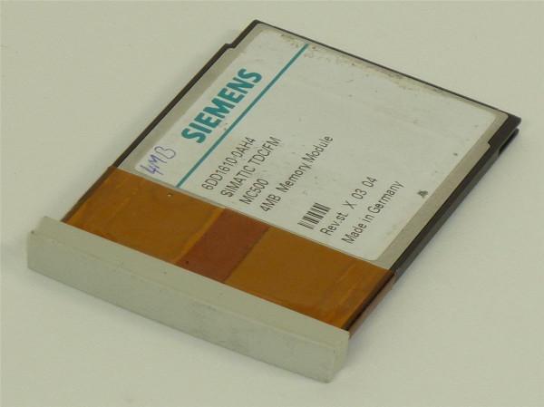 Siemens Simatic TDC/FM 4MB Memory Module,6DD1610-0AH4,6DD1 610-0AH4