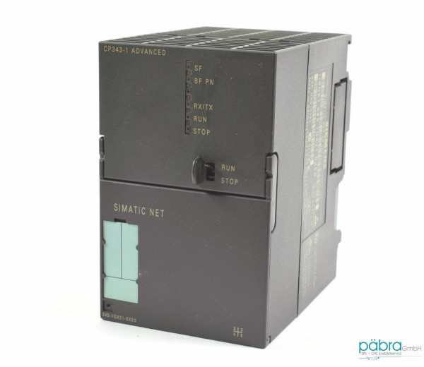 Siemens Simatic S7 CP343,6GK7 343-1GX21-0XE0,6GK7343-1GX21-0XE0,E:01/02