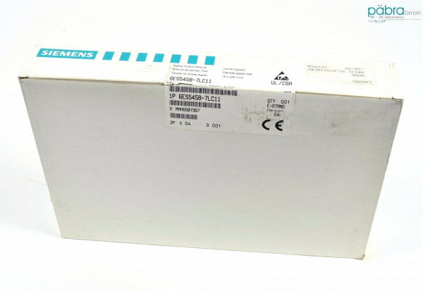 Siemens Simatic S5 Digital OUT,6ES5 458-7LC11,6ES5458-7LC11,E:04