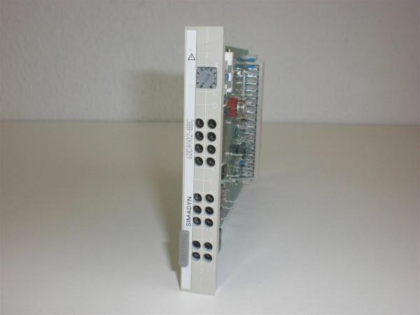 Siemens Simadyn 6DC4002-8BC,6DC 4002-8BC