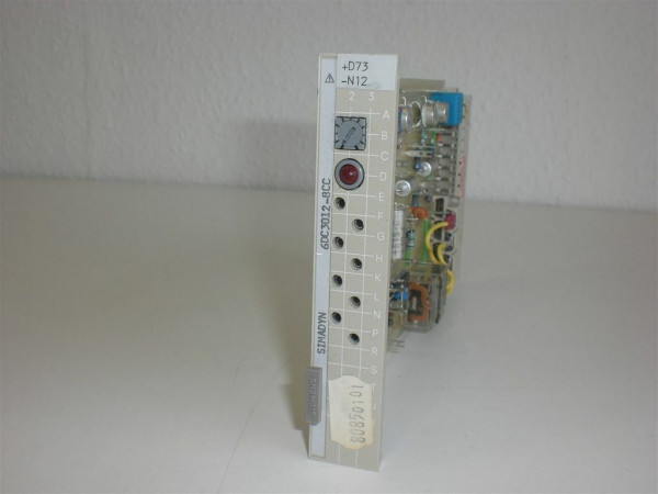 Siemens Simadyn 6DC3012-8CC,6DC 3012-8CC