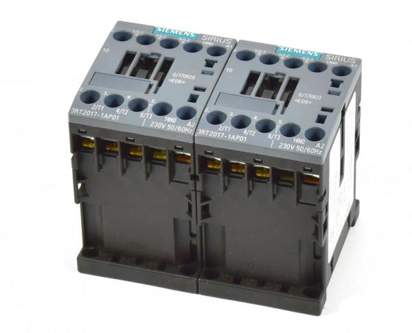 2 x Siemens Sirius Schütz,3RT2017-1AP01,3RT2 017-1AP01