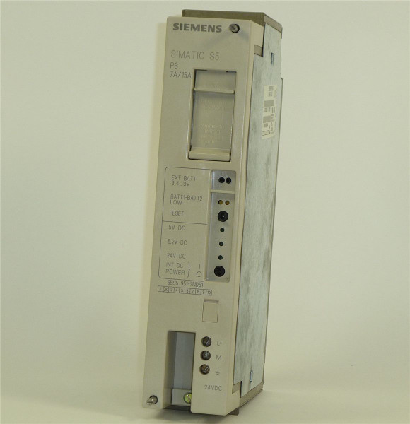 Siemens Simatic S5 PS951,6ES5 951-7ND51,6ES5951-7ND51,E:02
