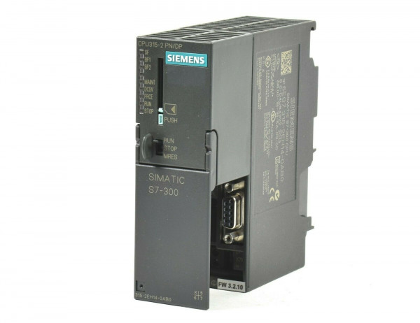 Siemens Simatic S7 CPU 315-2PN/DP,6ES7 315-2EH14-0AB0,6ES7315-2EH14-0AB0,FS:4