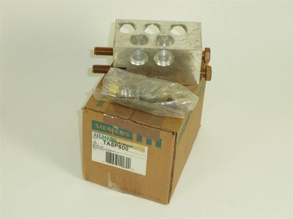 Siemens I-T-E Circuit Breaker Product, TA5P600
