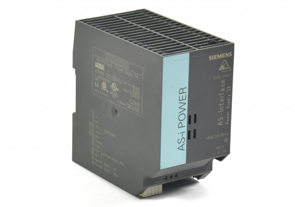 Siemens AS-i Power 5A AC 120V/230V,3RX9502-0BA00,3RX9 502-0BA00,E:02