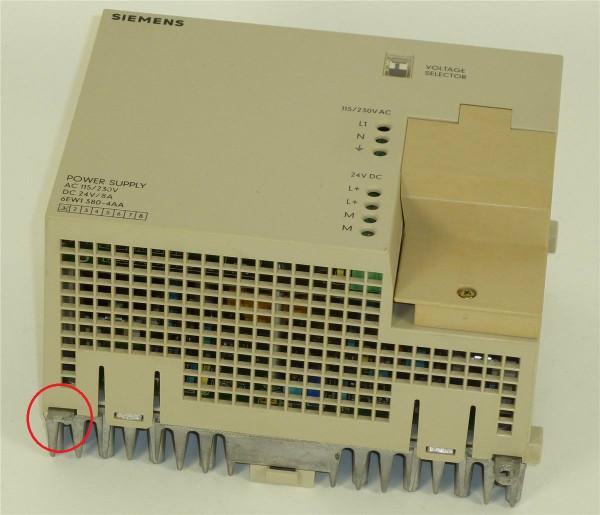 Siemens Simatic Power Supply,6EW1380-4AA,6EW1 380-4AA