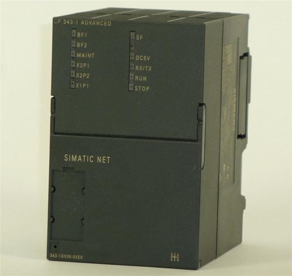 Siemens Simatic S7 CP 343-1,6GK7343-1GX30-0XE0,6GK7 343-1GX30-0XE0,E:03