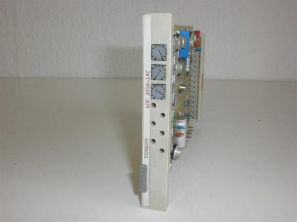 Siemens Simadyn 6DC2006-1AC,6DC 2006-1AC
