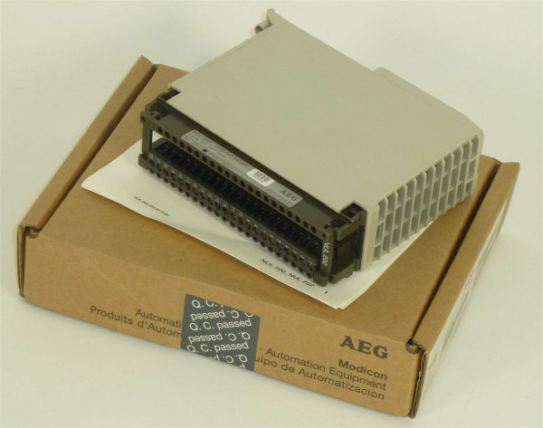AEG Modicon Supply dis. NUL 202,4130-042.244866,Rev.03
