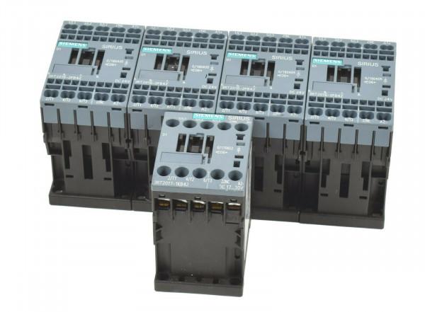 5 x Siemens Sirius Leistungsschütz,4 x 3RT2016-2FB42,1 x 3RT2017-1KB42