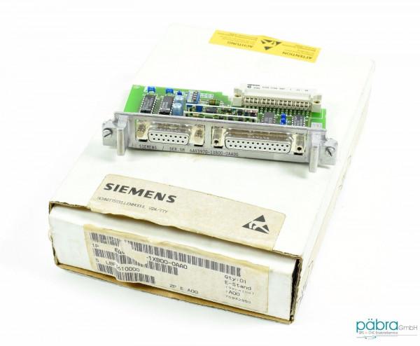 Siemens Simatic S5 Schnittstellenmodul,6AV3 970-1XB00-0AA0,6AV3970-1XB00-0AA0