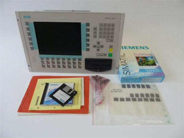 Siemens Simatic OP47/Win CC,6AV3647-1ML02-3CC0,6AV3 647-1ML02-3CC0