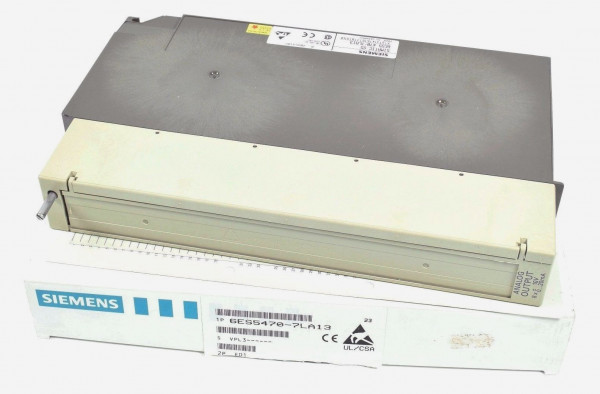 Siemens Simatic S5 115U Analog OUT,6ES5 470-7LA13,6ES5470-7LA13,E:01