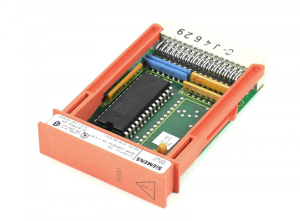 Siemens Simatic S5 RAM,6ES5 375-0LD31,6ES5375-0LD31,E:05