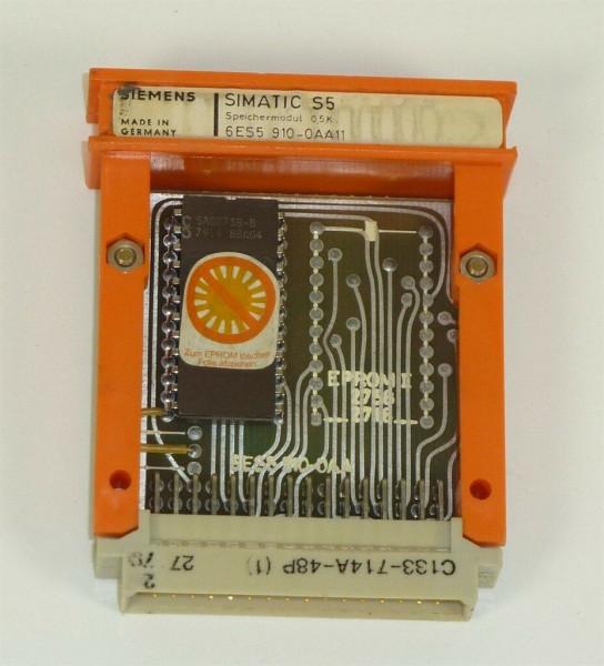 Siemens Simatic S5 Speicher/EPROM, 6ES5 910-0AA11