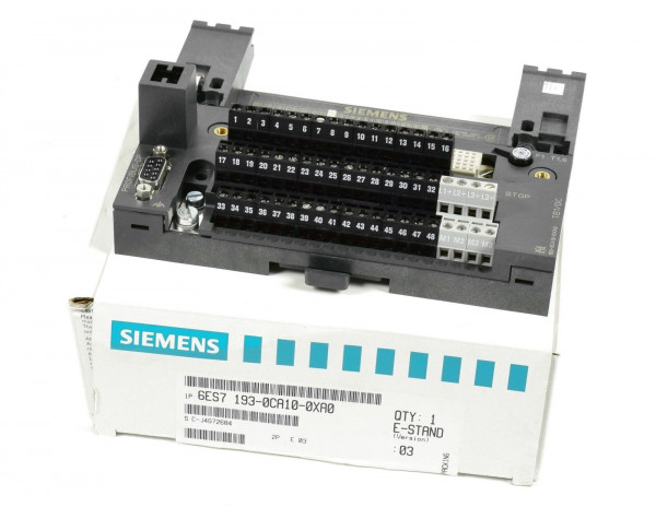 Siemens Simatic S7 Terminalblock,6ES7 193-0CA10-0XA0,6ES7193-0CA10-0XA0