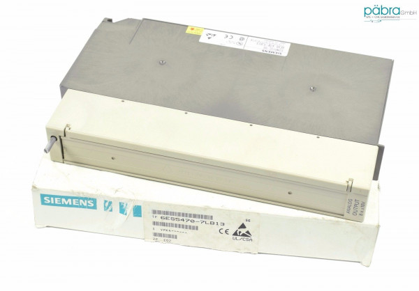 Siemens Simatic S5 115U Analog OUT,6ES5 470-7LB13,6ES5470-7LB13,E:02