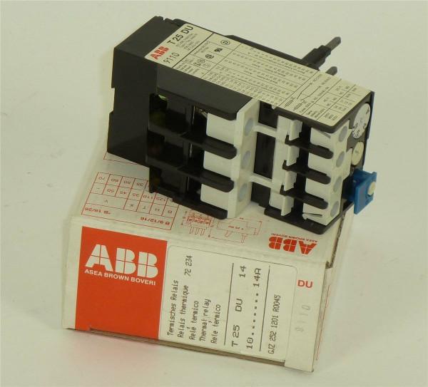ABB Asea Brown Boveri Thermisches Relais,GJZ 252 1201 R0045,GJZ2521201R0045