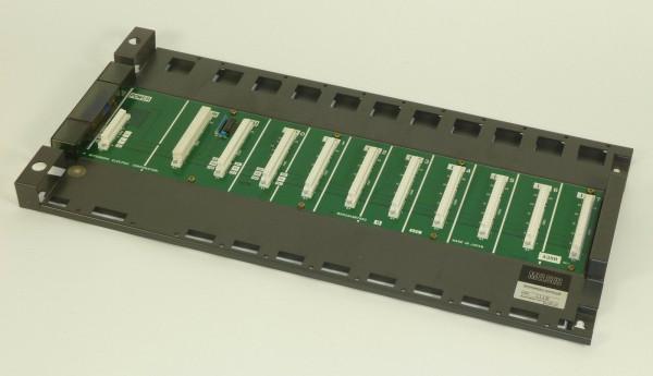 Mitsubishi Melsec 11 Slot Rack, A38B,Date 111E