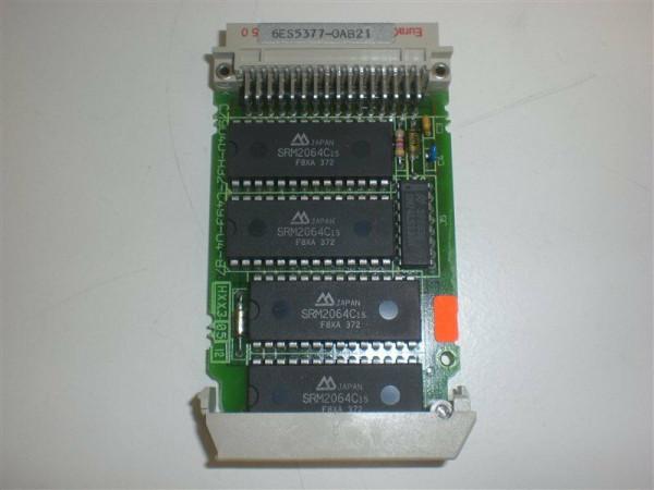 Siemens Simatic S5 Memory Submodul, 6ES5 377-0AB21