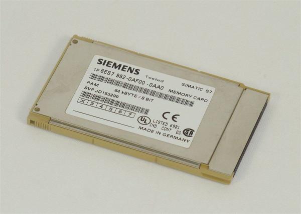 Siemens Simatic S7 Memory Card,6ES7 952-0AF00-0AA0