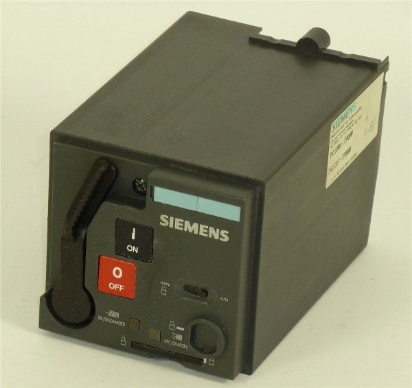Siemens Motorantrieb mit Federspeicher VL160X-VL250,3ZX1012-0VL10-1MA1