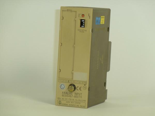 Siemens Simatic S5 Analog Input,6ES5467-8EE11,6ES5 467-8EE11,E:04