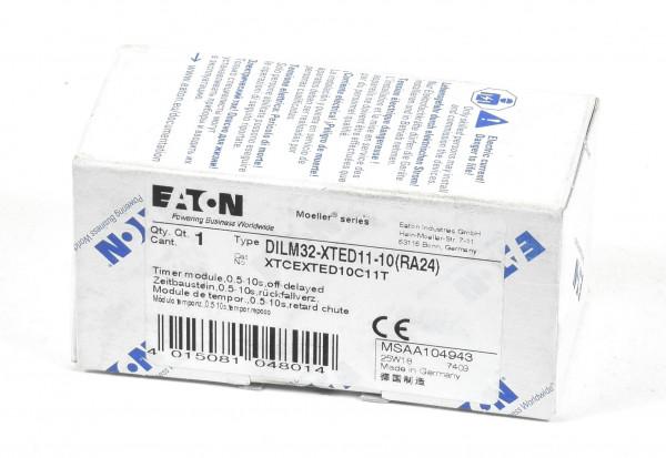 Eaton Zeitbaustein 0,5-10s rückfallverzögert,DILM32-XTED11-10(RA24)