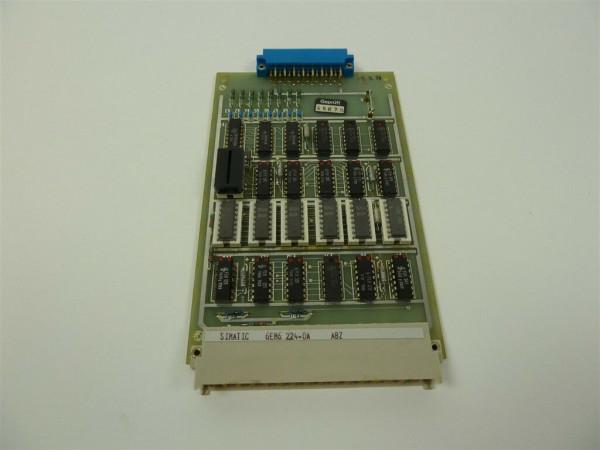 Siemens Simatic ABZ, 6EM6 224-0A, 6EM6224-0A