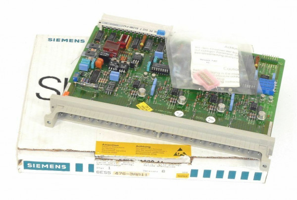 Siemens Simatic S5 Analog OUT,6ES5476-3AA11,6ES5 476-3AA11,E:06