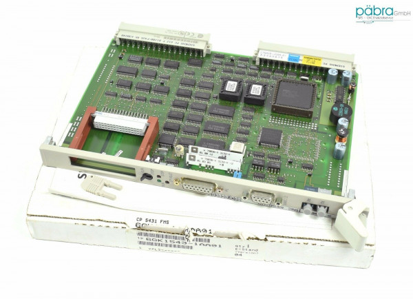 Siemens Simatic S5 CP5431 FMS,6GK1543-1AA01,6GK1 543-1AA01