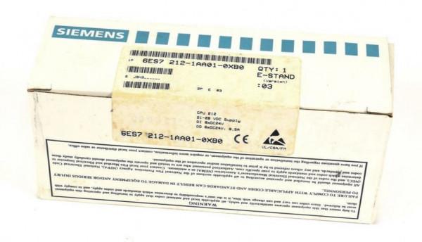 Siemens Simatic S7 CPU 212,6ES7 212-1AA01-0XB0,6ES7212-1AA01-0XB0