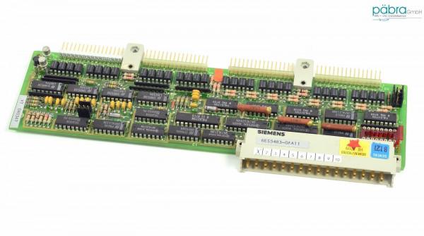 Siemens Simatic S5 Digital I/O Module,6ES5483-0AA11,6ES5 483-0AA11