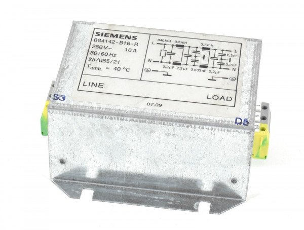 Siemens Entstörfilter,B84142-B16-R