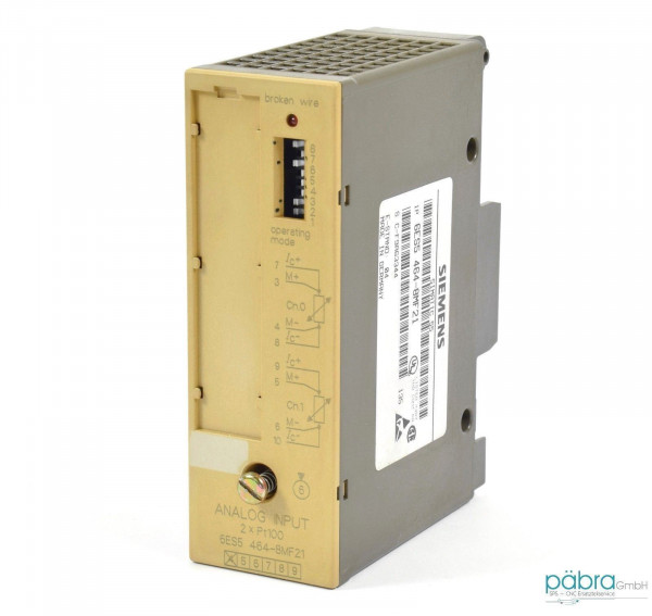 Siemens Simatic S5 Analog IN,6ES5 464-8MF21,6ES5464-8MF21