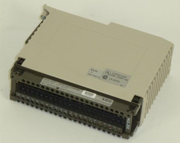 AEG Modicon Supply dis. NUL 202,4130-042.244866,Rev.04