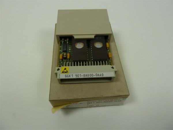 Siemens Sinec-Uhrzeitmodul,6GK1 901-8AB00-0AA0