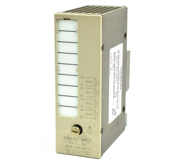 Siemens Simatic S5 Analog IN,6ES5 466-8MC11,6ES5466-8MC11,E:03