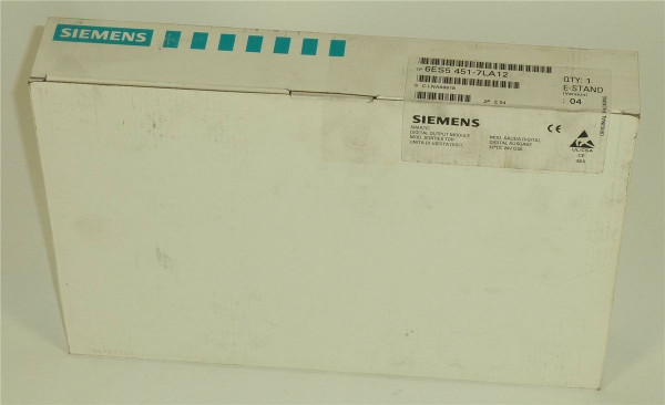 Siemens Simatic S5 Digital OUT,6ES5 451-7LA12,6ES5451-7LA12,E:04