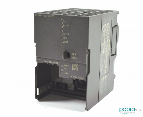 Siemens Simatic S7 CP343,6GK7 343-1GX21-0XE0,6GK7343-1GX21-0XE0,E:01