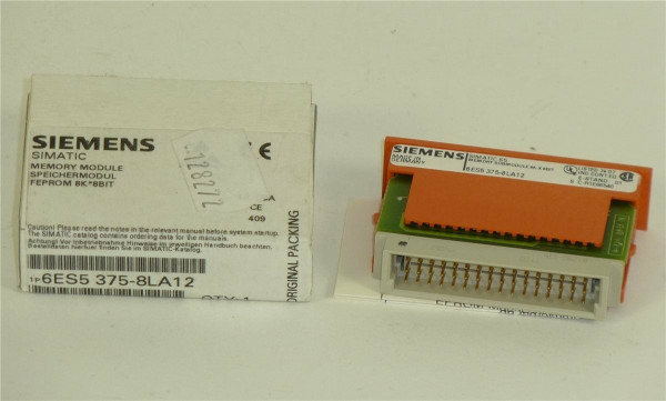 Siemens Simatic S5 FEPROM,6ES5 375-8LA12,6ES5375-8LA12