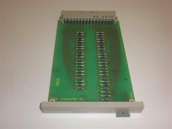 Siemens Simatic C1, 6EC1012-0A,6EC1 012-0A