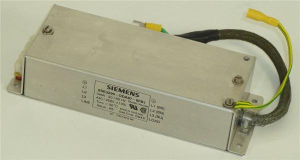 Siemens MicroMaster Entstörfilter,6SE3290-0DA87-0FB1,6SE3 290-0DA87-0FB1