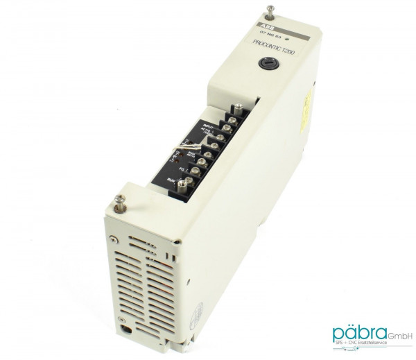 ABB Power Supply,07NG63R1,GJV3074313R1