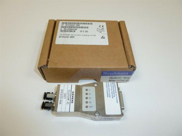 Siemens Teleperm XS Fiberopotic Transceiver,6FK5232-8AA