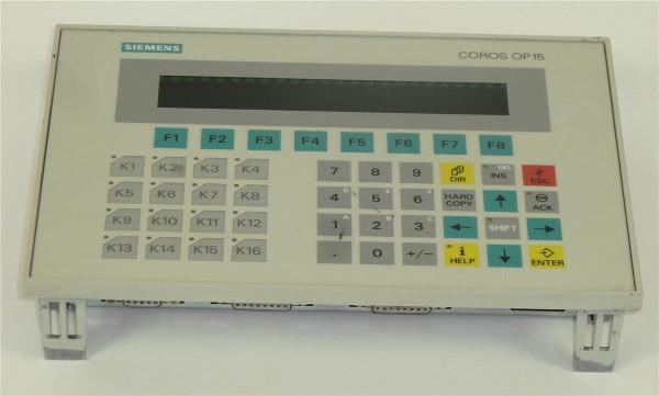 Siemens Simatic OP15-A1VF,6AV3515-1EK30-1AA0,6AV3 515-1EK30-1AA0