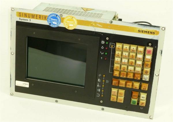 "Siemens Sinumerik System 3 9""Bedientafel,6FC3988-5MC25,6FC3 988-5MC25"